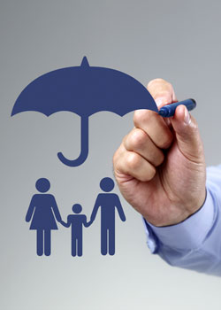 Conceptual umbrella of protection