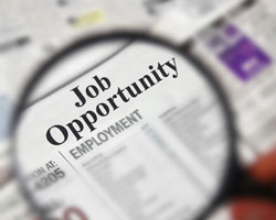 Job ad listing