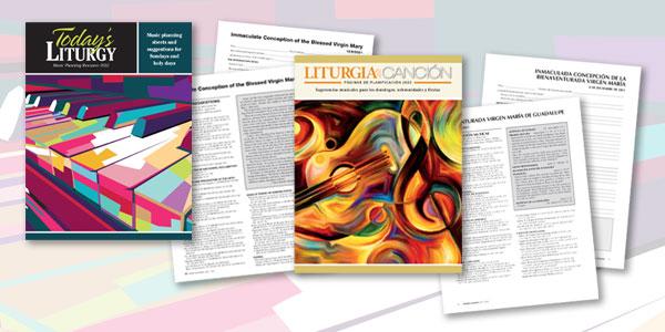 New annual liturgy planning books