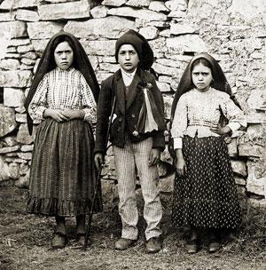 Los niños visionarios de Fatima Lucia, Francisco & Jacinta
