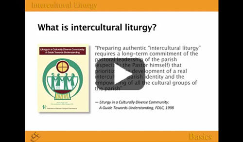 Screenshot for Intercultural Liturgy Part 1