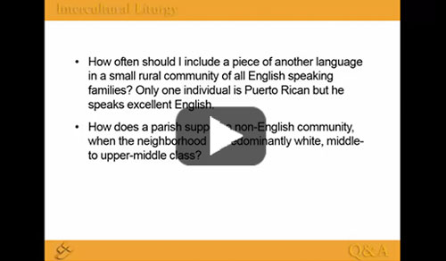 Screenshot for Intercultural Liturgy Part 4