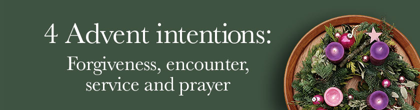 4 Advent intentions