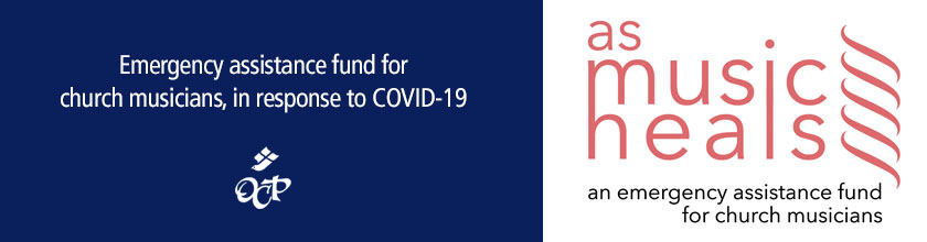 Emergency assistance fund for church musicians, in response to COVID-19