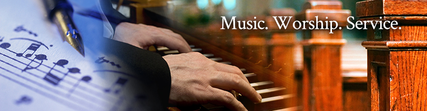 Music, Worship, Service