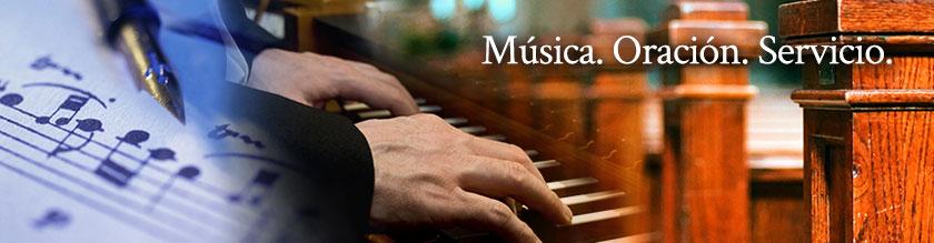 Música, Oración, Servicio
