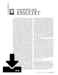 Chanting the Exsultet