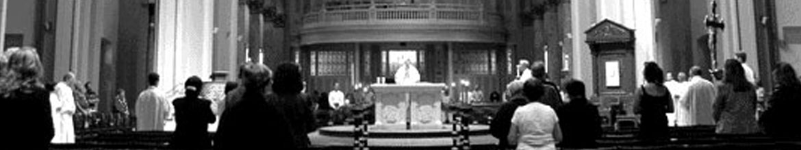 Catholic church mass