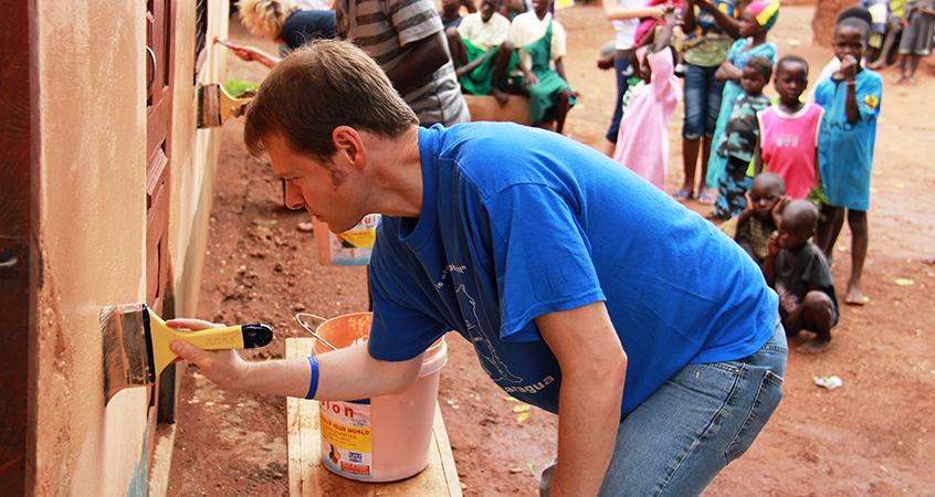 Robert Feduccia in Ghana