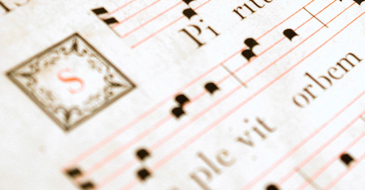 english language chant and latin mass full recordings and sheet