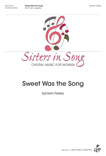 Sisters in Song Choral Series