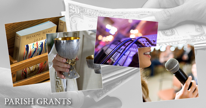 Parish grants collage