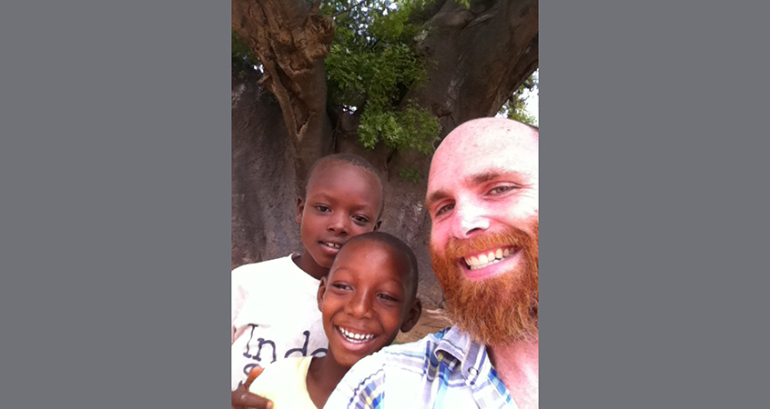 Ben Walther in Ghana