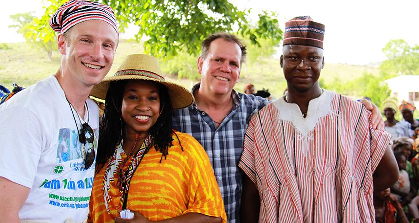 Greg Walton in Ghana