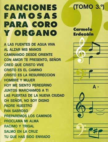 Canciones Famosas Coro y Organo 3