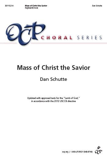 Mass of Christ the Savior-Keyboard/Choral