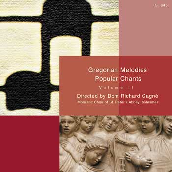 Gregorian Melodies: Popular Chant