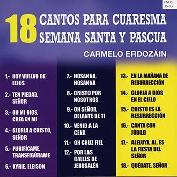 18 Cantos para Cuaresma Semana Santa y Pascua