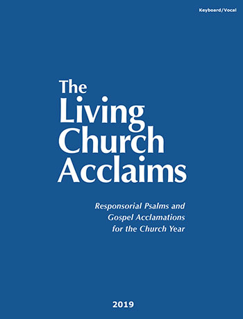 The Living Church Acclaims cover