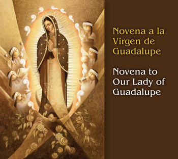 Novena a la Virgen de Guadalupe/Novena to Our Lady of Guadalupe cover