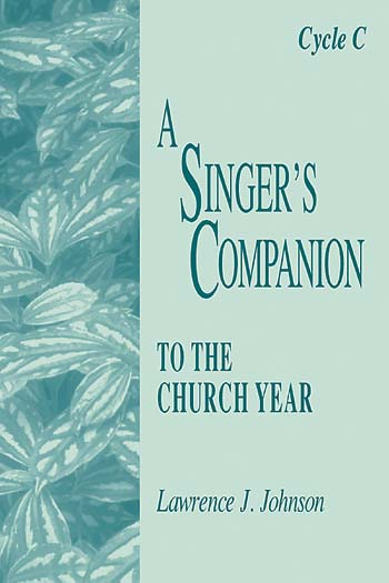 A Singer's Companion Cycle A