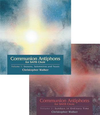 Communion Antiphons for SATB Choir