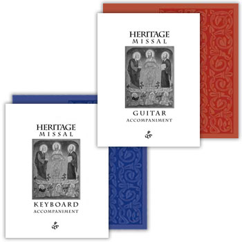 Heritage Missal Accompaniment Books